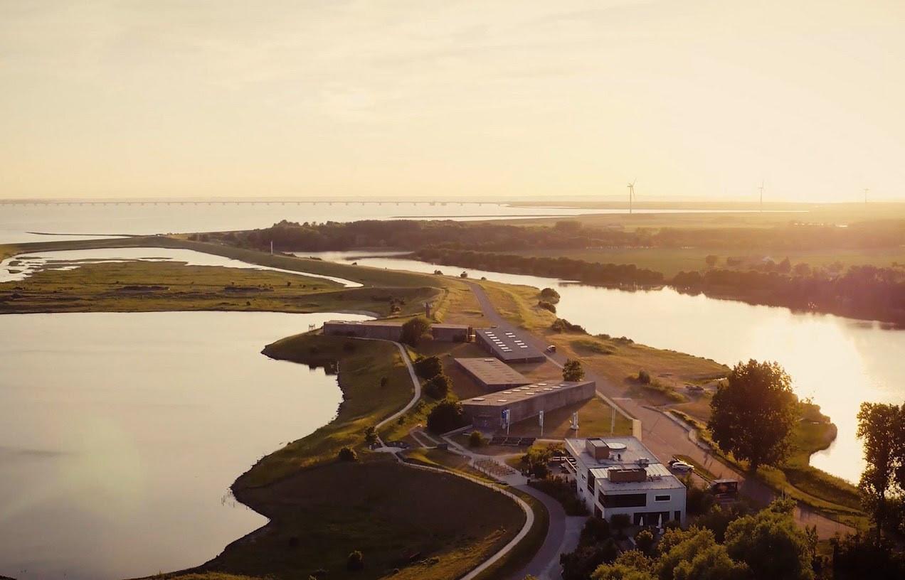 Het Watersnoodmuseum bij Ouwerkerk