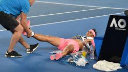Geen halve finale: Nadal moet na partij van bijna vier uur de strijd staken met nieuwe blessure