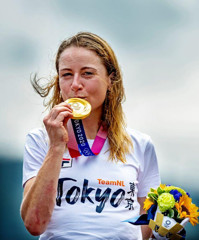 Goud: Annemiek van Vleuten (wielrennen, individuele tijdrit, vrouwen)