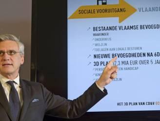 CD&V wil 6 miljard euro belastingverlagingen