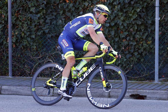 Jan Bakelants is na een val in de openingsetappe van de Ronde van Catalonië drie weken geleden weer fit bevonden.