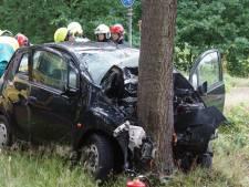 Jonge vrouw raakt zwaargewond bij botsing tegen boom in Kaatsheuvel, traumaheli opgeroepen