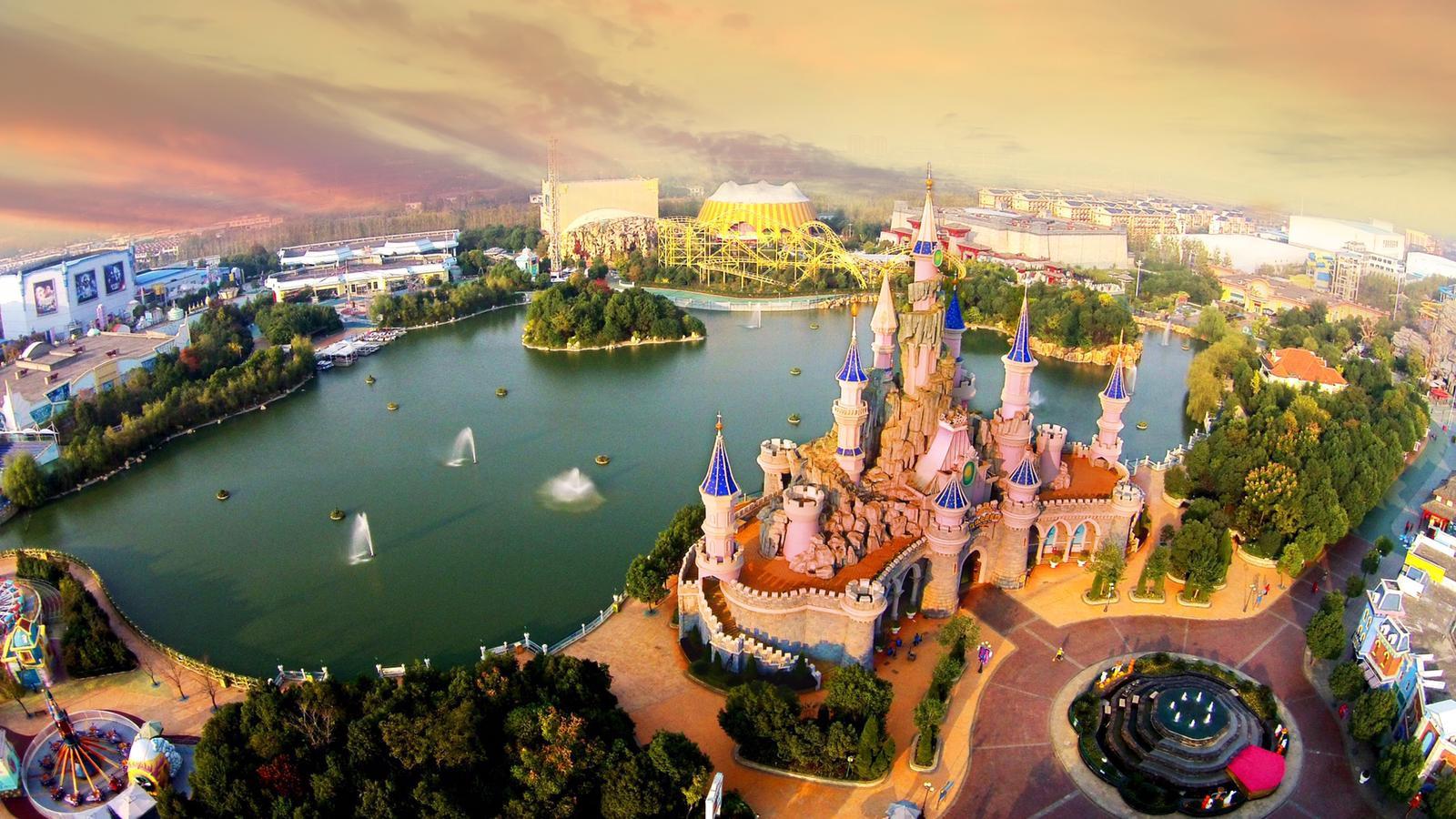 Een van de themaparken van Fantawild in China.