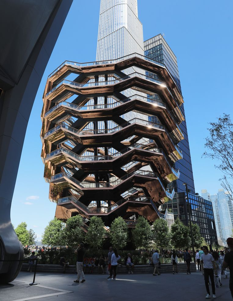 The Vessel in New York. Beeld Getty