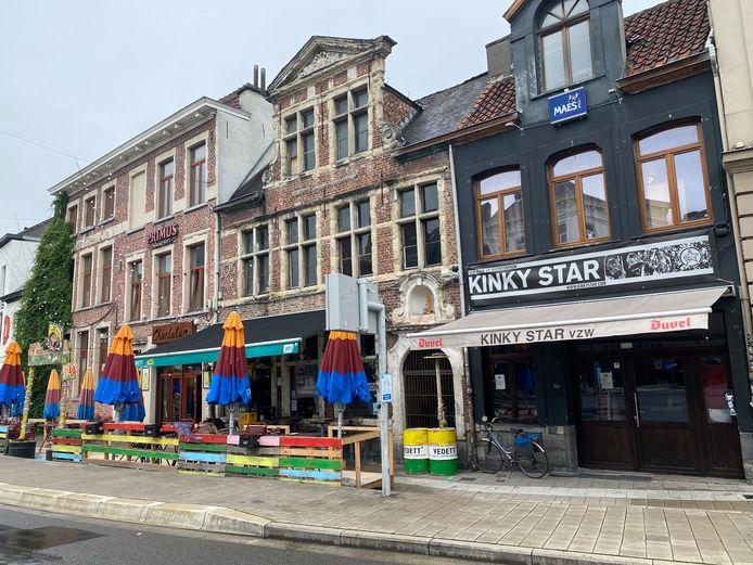 Kinky Star op de Vlasmarkt.