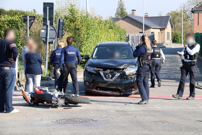 Het ongeval gebeurde op de Eegene in Schoonaarde.