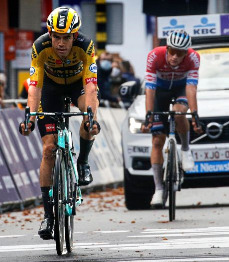 """Wout van Aert tacle van der Poel: """"Il préférait me voir perdre plutôt que de gagner"""""""
