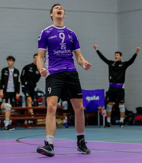 Volleyballers Vocasa mogen nog even dromen van kampioenspoule
