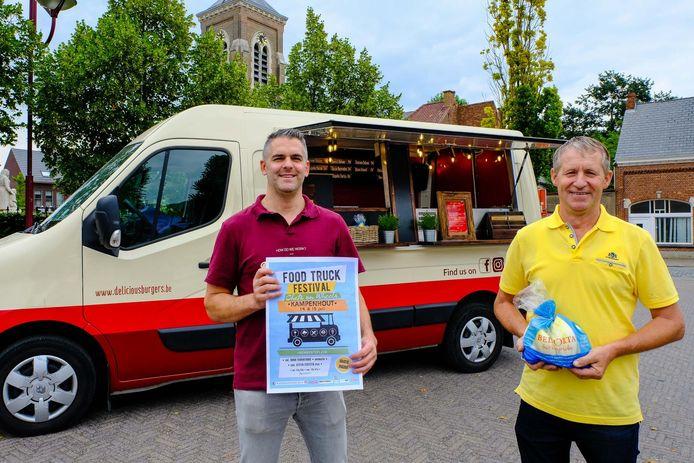 Bjorn Pardon van Delicious Burgers en schepen Rudi Van Ingelgom zullen er komend weekend alvast bij zijn.