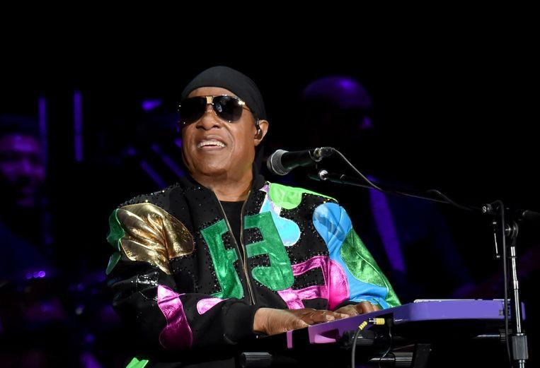 Stevie Wonder in 2019. Beeld Getty