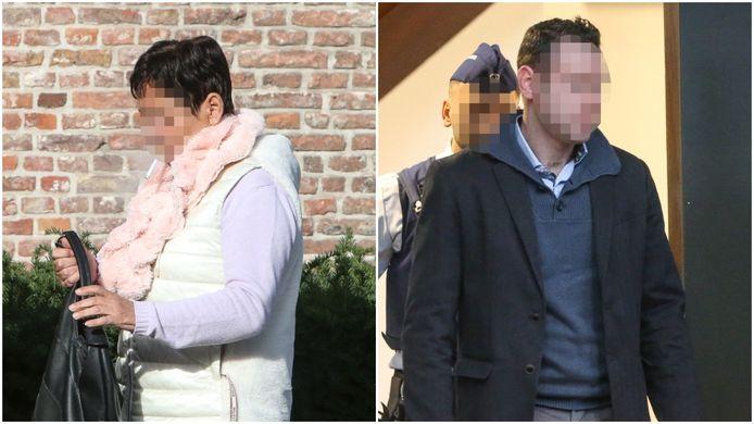 Karien Kesteman, de moeder van de beschuldigde, kwam woensdagnamiddag getuigen in het Brugse assisenhof.