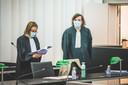 Advocaten Raan Colman en Louise Scholiers van Martine H.
