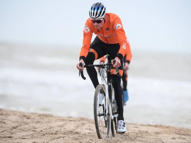 """Mathieu van der Poel tankt extra vertrouwen na parcoursverkenning in Oostende: """"Ik ben aangenaam verrast"""""""