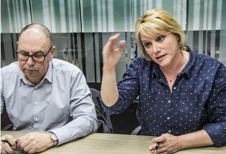 Miranda Ulens: 'De volgende regering moet het geld halen waar het zit: bij de toplaag die de voorbije vijf jaar fantastisch heeft geboerd.' Beeld Saskia Vanderstichele