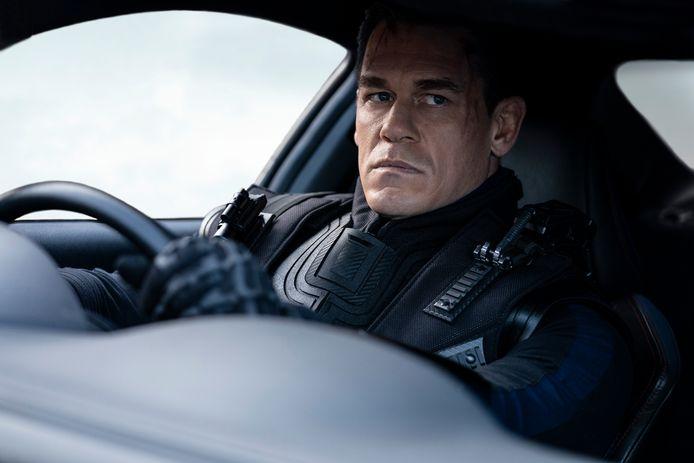 John Cena in een scène van 'F9: The Fast Saga'.