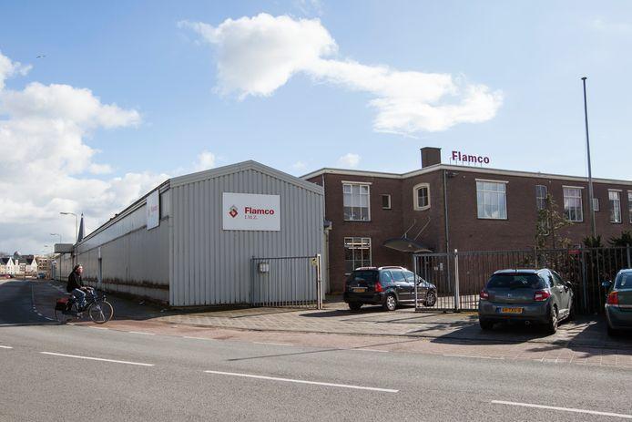 Het voormalige pand van Flamco aan de Hermesweg op De Mars in Zutphen.