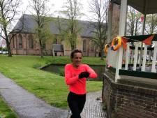 Leonie Ton loopt ook in de Meidoornloop weer sneller