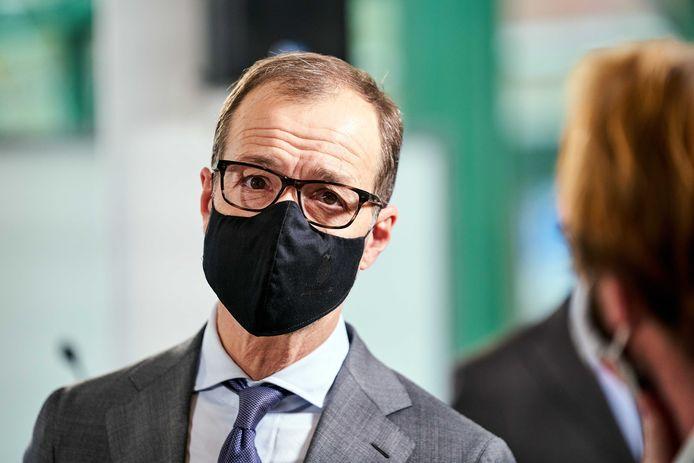 Minister Eric Wiebes (Klimaat),