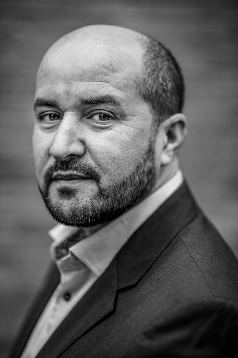 Ahmed Marcouch is woordvoerder van de PvdA-fractie in de Tweede Kamer voor veiligheid en integratie. Beeld Rink Hof/Het Parool