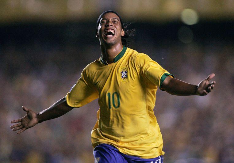 Ronaldinho. Beeld REUTERS