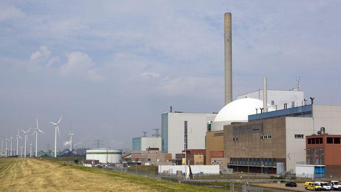 De kerncentrale bij Borsele