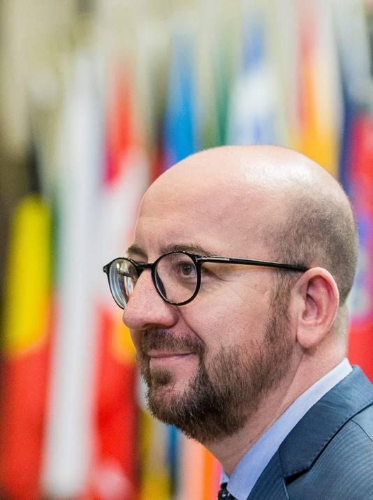 """Premier Charles Michel blijft """"openstaan voor overleg""""."""