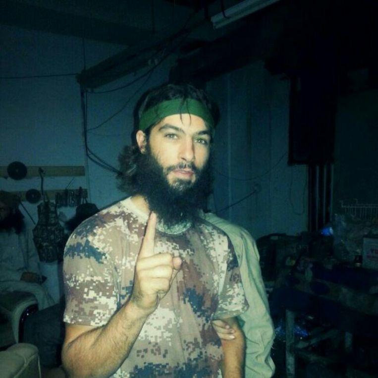 ► In België zou Jadaoun al in de cel hebben gezeten voor 'diefstal en gevechten met de politie'. Beeld rv