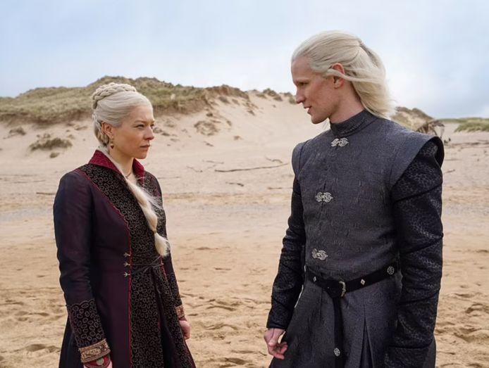 Een eerste beeld vanop de set van 'House of the Dragon'