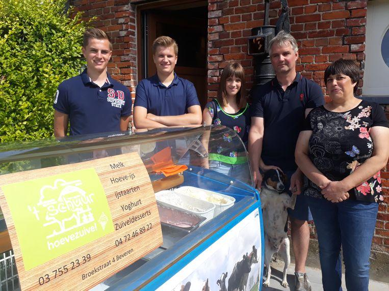 De familie Annaert  is één van de deelnemers aan 'Boeren en Buren'.