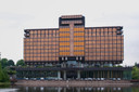Het gebouw aan de Vorstlaan in Watermaal-Bosvoorde.