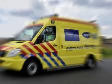 Scooterrijder gewond na botsing op N59
