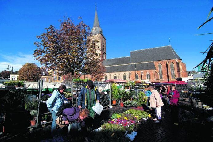 De woensdagmarkt in Winterswijk. Foto: Jan van den Brink