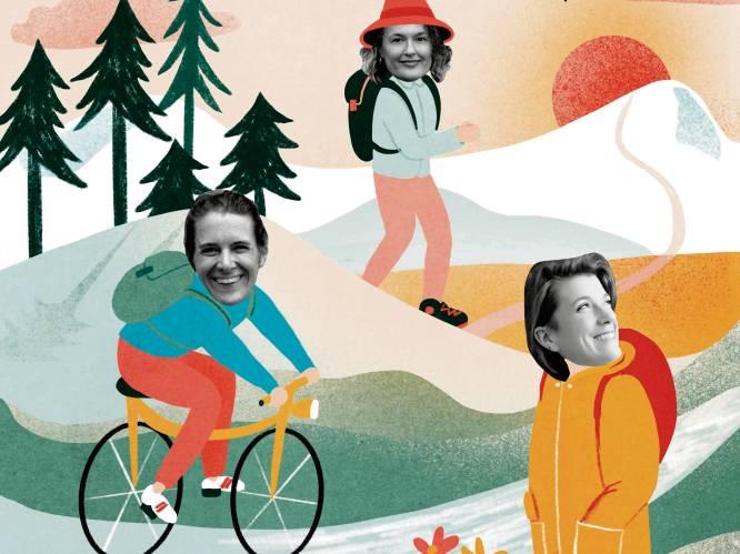 """Steeds meer vrouwen reizen solo. Ine, Syl en Francine vertellen over de vrijheid onderweg: """"Je kan je altijd bang laten maken, maar ik wil leven"""""""
