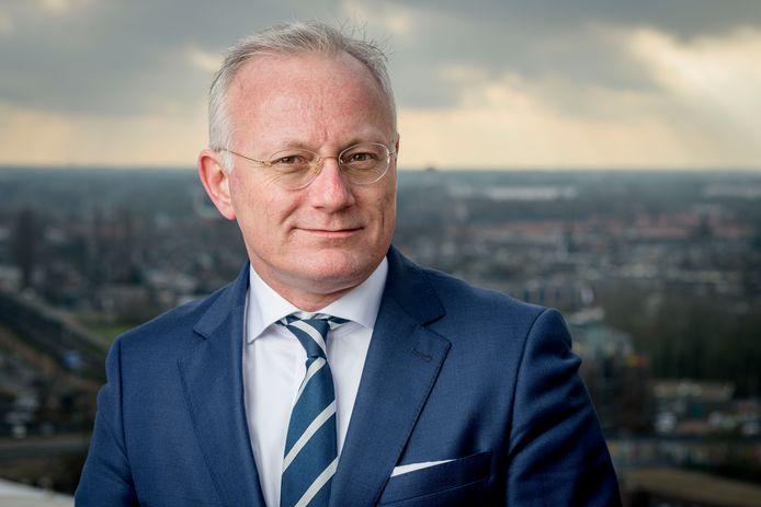 Arjen Gerritsen, burgemeester van Almelo en plaatsvervangend voorzitter van de Veiligheidsregio Twente.