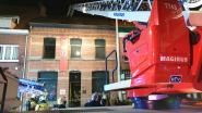 Brand in achterbouw van café 13