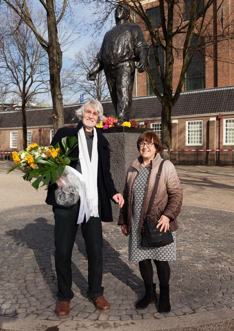 Bert Meester (links) en Adri Bloem (rechts) Beeld Nina Schollaardt