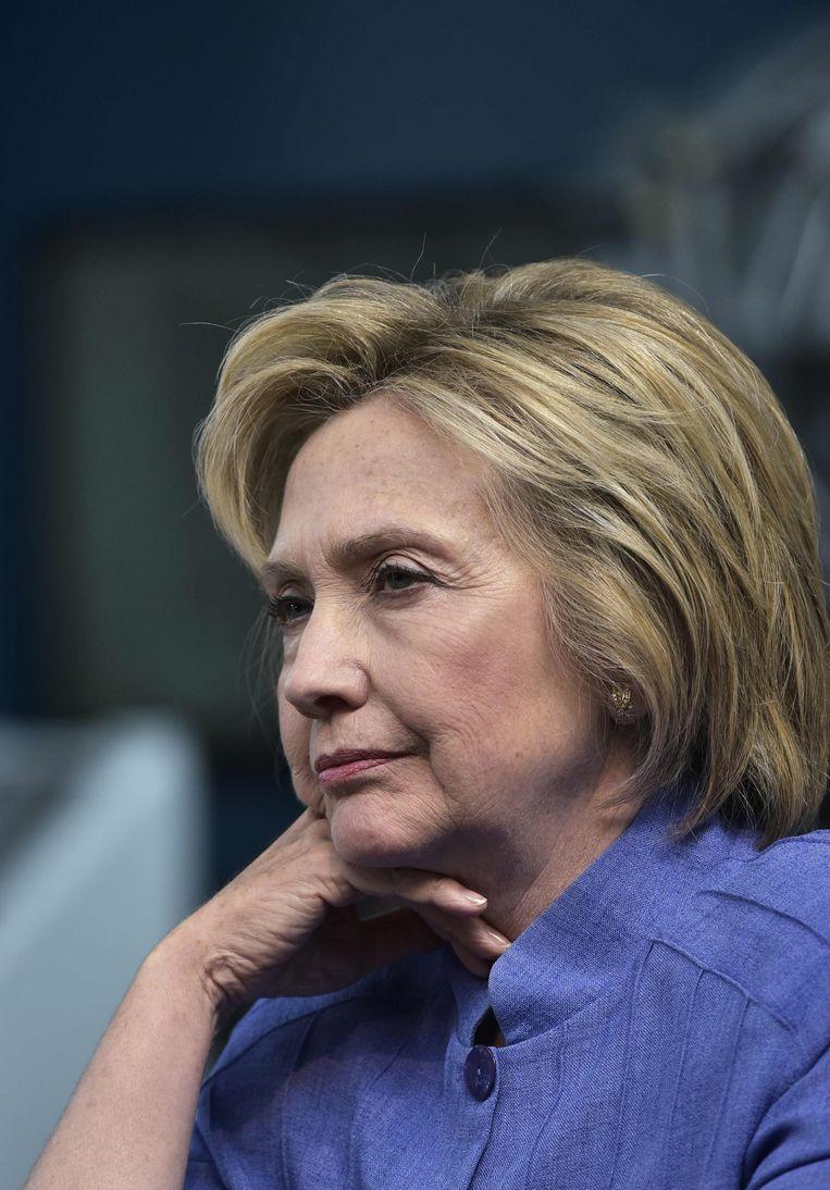Hillary Clinton. Beeld AFP