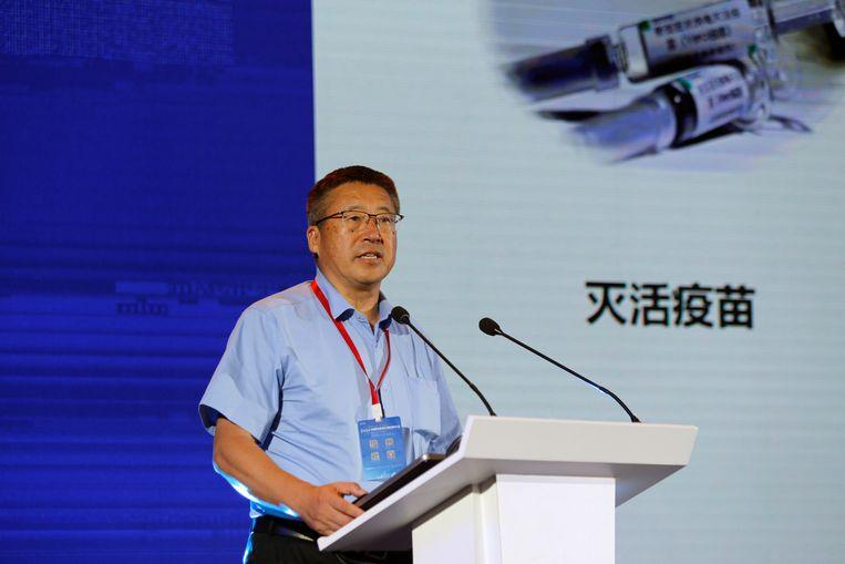 Mede-oprichter van CanSino Biologics Qiu Dongxu Beeld REUTERS