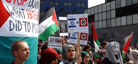 Hakenkruisen en Hitlergroet: Gazaprotest schokt Den Haag