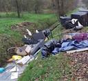 In Made werd meer dan negenhonderd kilo afval gedumpt.