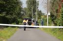 In de Dubbelhofstraat kon de dader korte tijd later opgepakt worden.