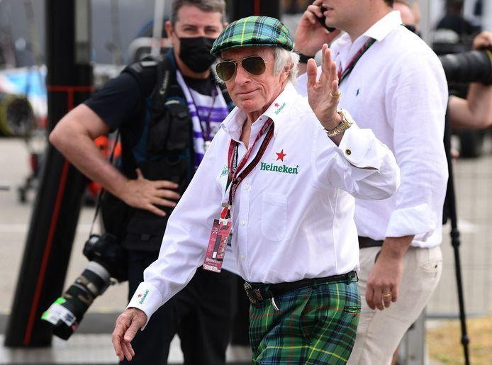 Sir Jackie Stewart was aanwezig in Monza.