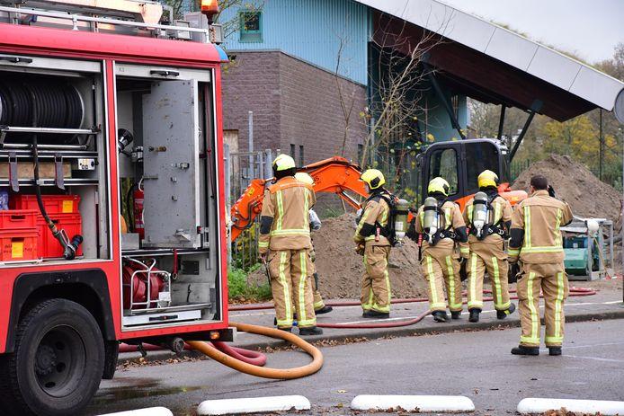 Brandweer in de Van der Hagenstraat voor een gaslek.