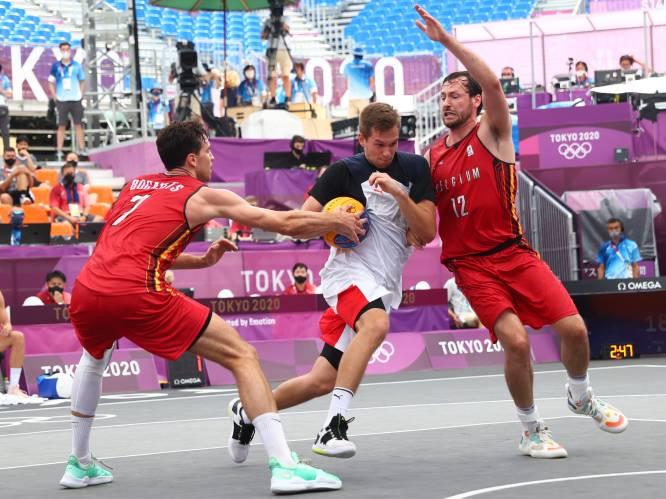 """Belgian Lions 3x3 winnen van Rusland, maar verliezen van favoriet Servië: """"Voor ons een mooi verhaal, tot we gisteren plots bedreigingen kregen"""""""