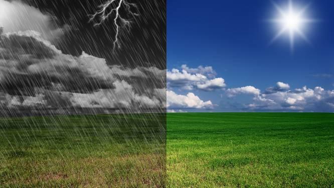 Komende dagen wisselvallig met opklaringen maar ook buien en onweer