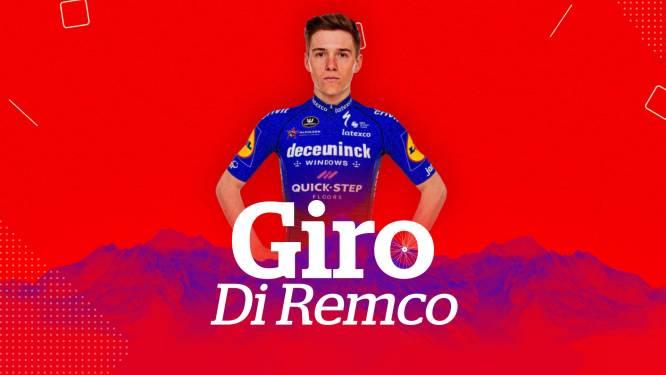 """Giro Di Remco #4. """"Voor Evenepoel wordt het vandaag zaak om gevoel in het peloton terug te krijgen"""""""