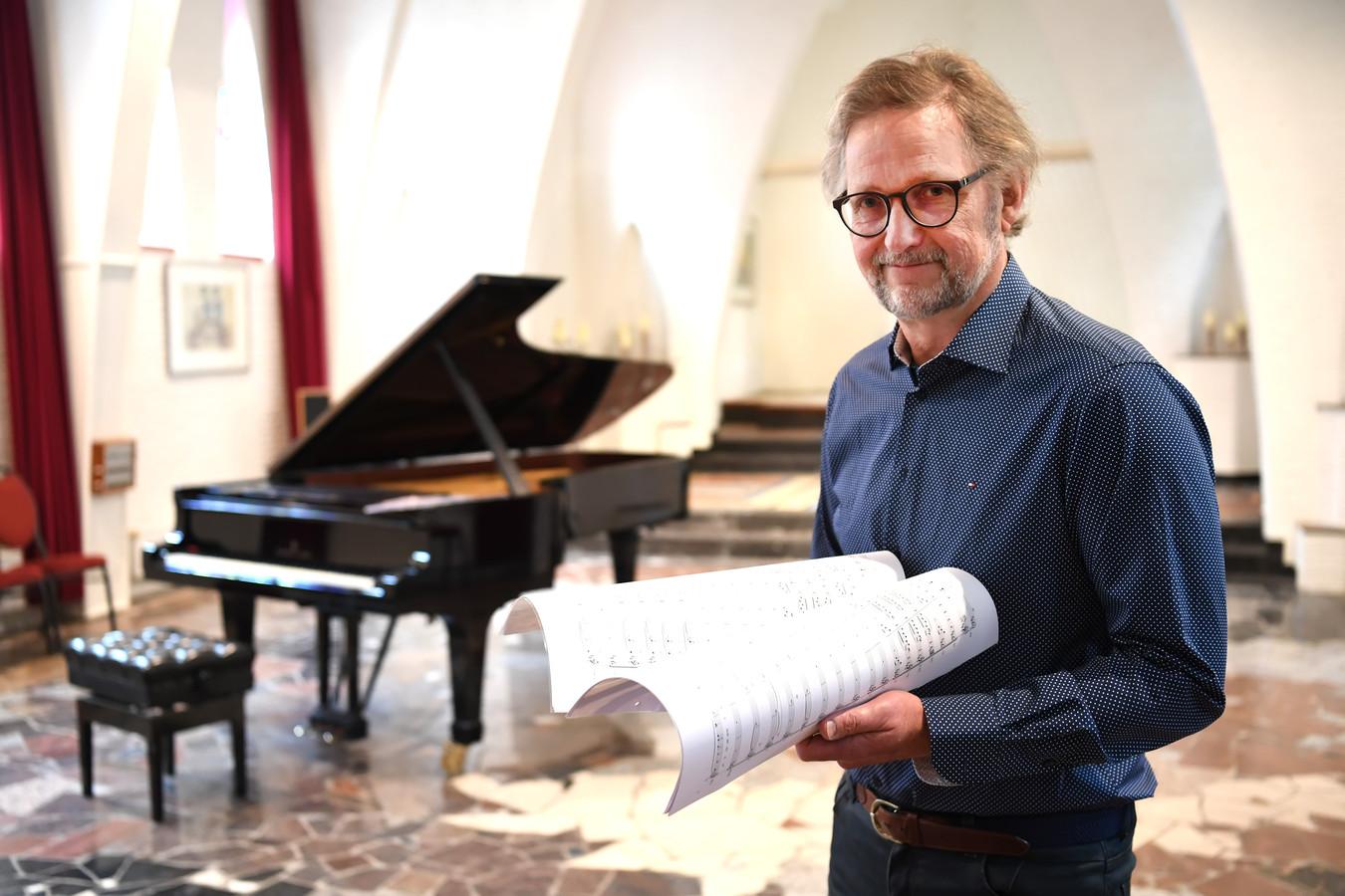 Componist Maarten Hartveldt, die al jaren in de clinch ligt met Buma/Stemra.