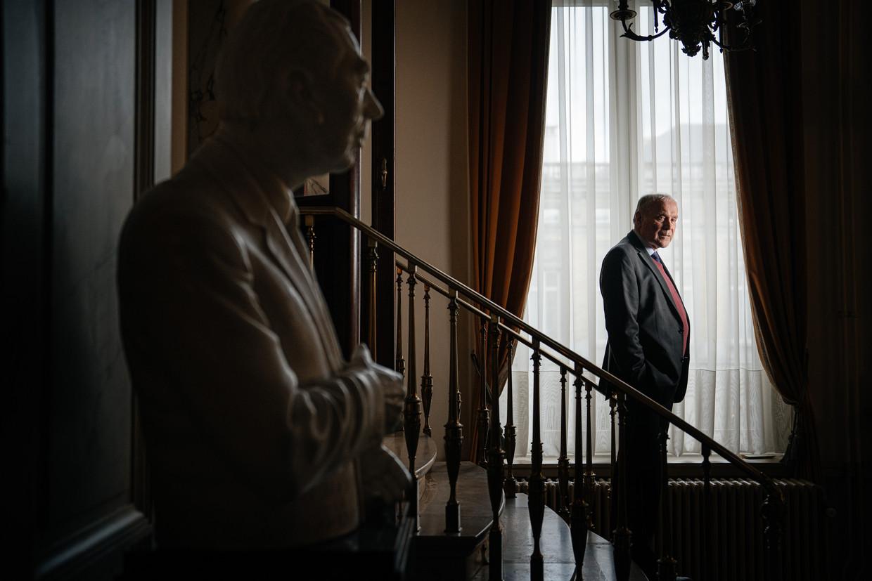 Eric Van Rompuy. 'Ik was gecharmeerd door de charismatische Leo Tindemans toen die in 1974 premier werd. Ik was een Tindemans-boy.' Beeld Wouter Van Vooren