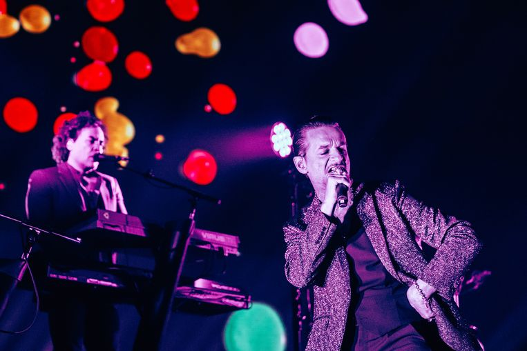 Depeche mode Beeld Illias Teirlinck