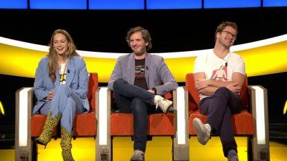 """Lauren Versnick vertelt uitgebreid over relatie met Jens Dendoncker in 'De Slimste Mens': """"Een goeie kus? Dat voel je in je buik"""""""